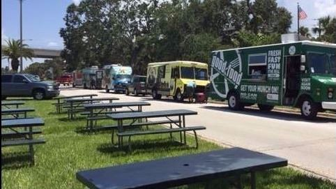 Food Trucks - Riverside Park