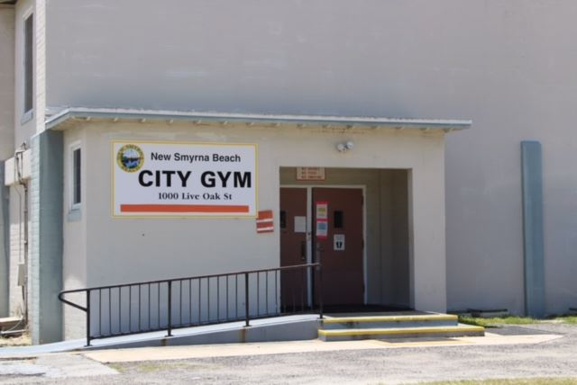 City Gym Entrance