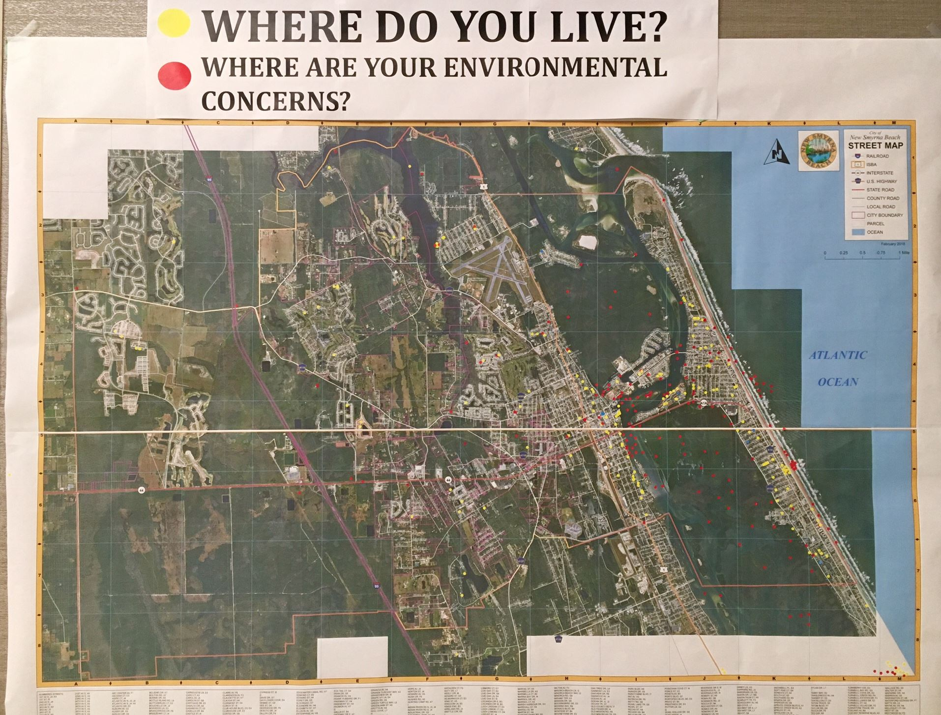 Map Where do you live Where you concerned