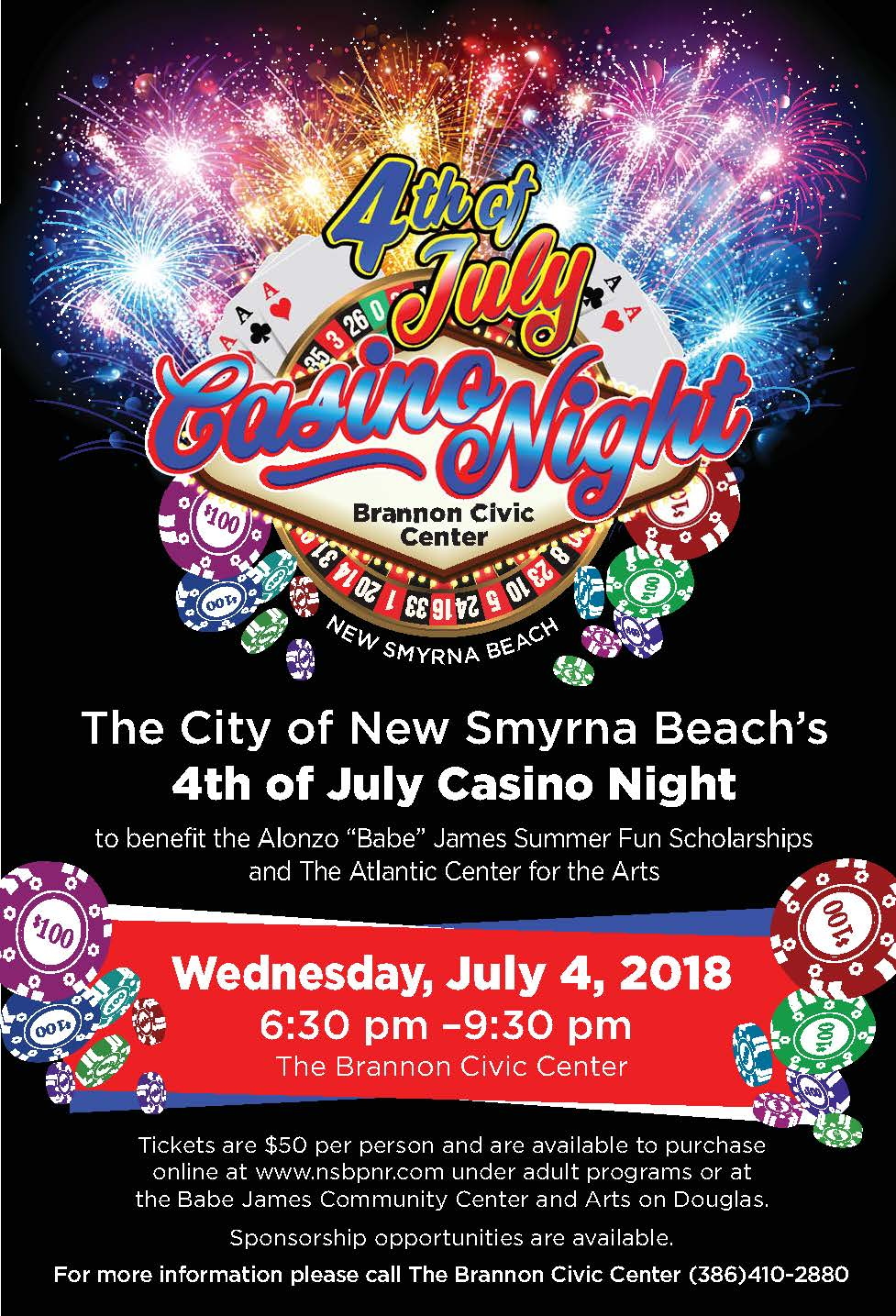 13x19_Casino Night poster 2018