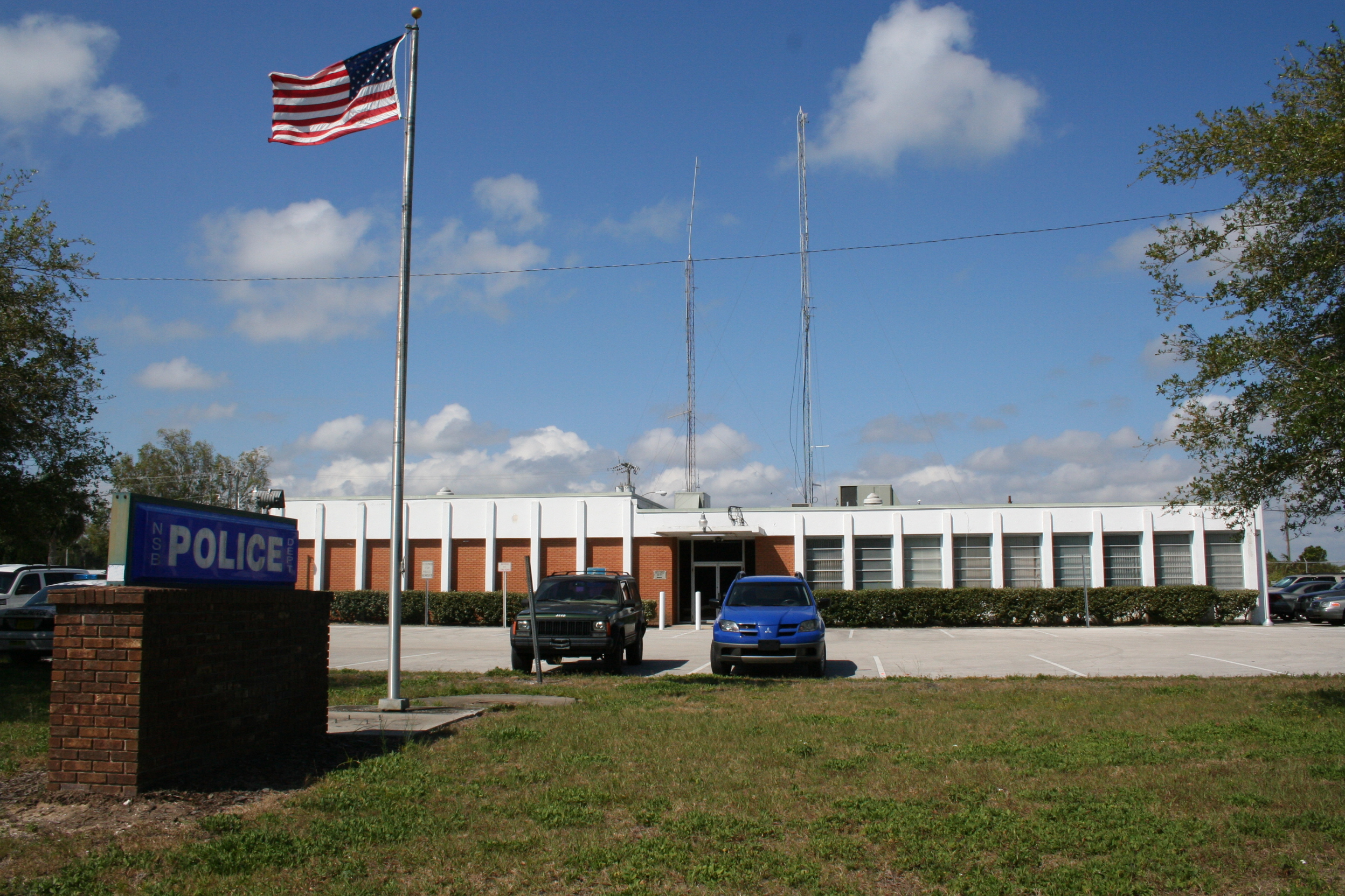 History of the new smyrna beach police department new for Fish memorial hospital